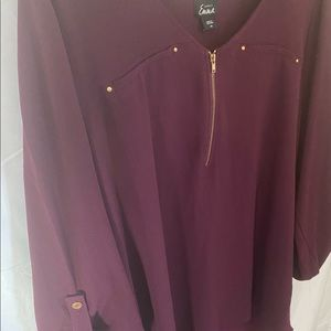 """Blouse, """"Simply Emma"""" by Sears, size 1X"""
